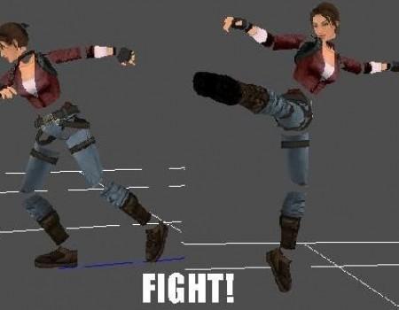 Kick animations