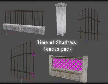 Time of Shadows: Fences pack