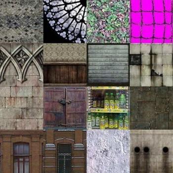 Various level textures - part 1