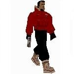 Red Antartica Guard