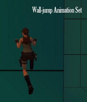 Wall-Jump Animation Set