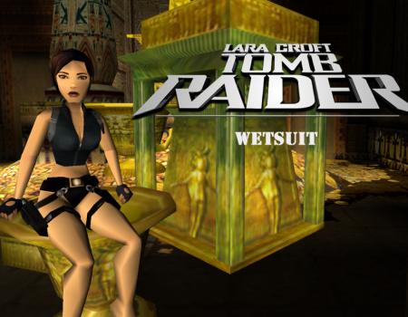 Tomb Raider 4 Wetsuit