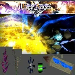 king arthur project magic levels objects