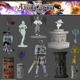 King Arthur project puzzles and keys