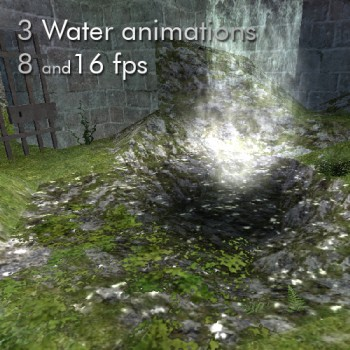 3 Water animations