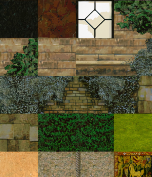 Upscaled TR2 Manor Textures