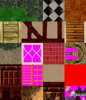 Upscaled TR3 Manor Textures