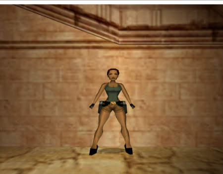 lara with new heels 1.1