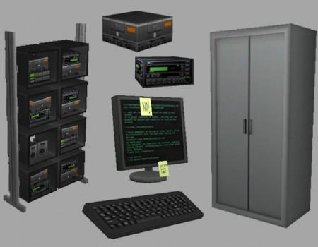Zip's Tech Room (Croft Manor TRL)