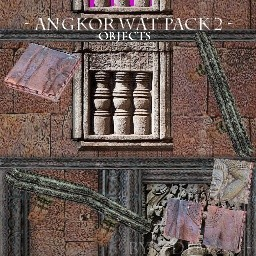 Angkor Wat Pack 2 (Objects)