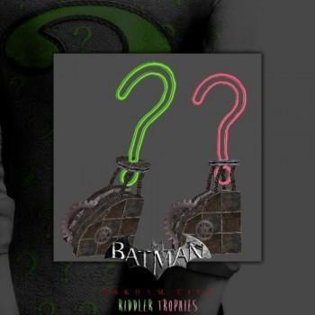 Batman: Arkham City - Riddler Trophy