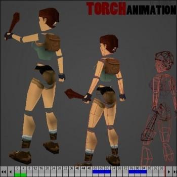 Tomb Raider: Torch Animation