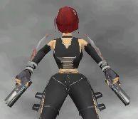 Bloodrayne draw guns animation