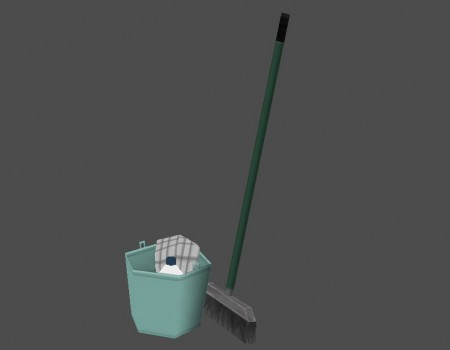 Broom and Bucket