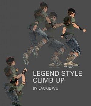 Legend Inspired Climb up animations