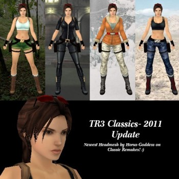 New TR3 Classic Remakes