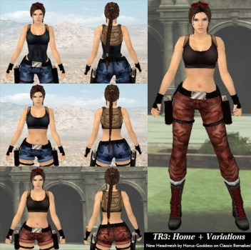 New TR3 Classic Remakes - Nevada, Home
