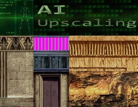 Coastal all Textures and WAD faces 2x AI Upscaled