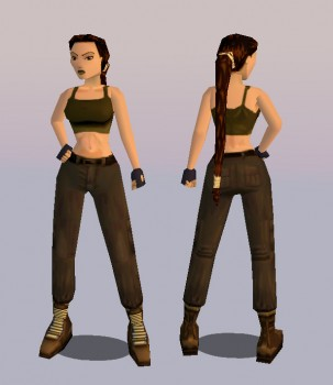 TR2 Gym remake (with joints)