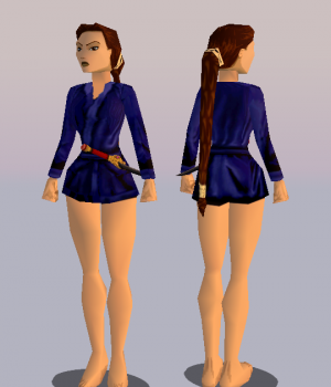 TR2 Nightgown remake (with joints)