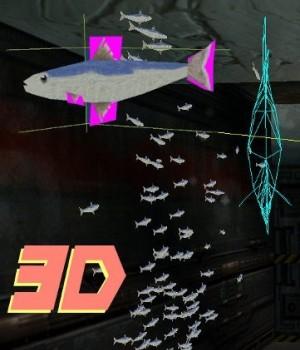 3D Sardines as fish emitter