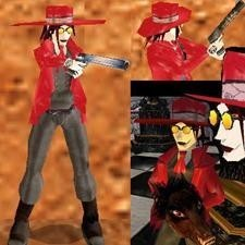 Alucard from the manga and anime Hellsing