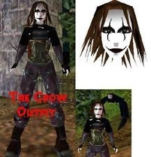 The Crow outfit