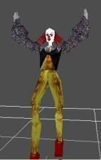 the demoniac clown