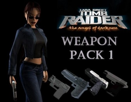 Angel of Darkness Weapon Pack 1