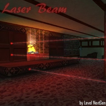 Laser Beam with Dust