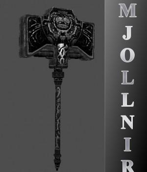 Mjollnir, the hammer of Thor