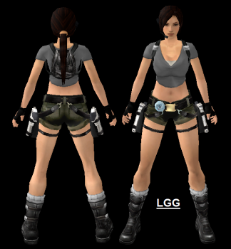 LGG Style TR Legend Camo Shorts Outfit
