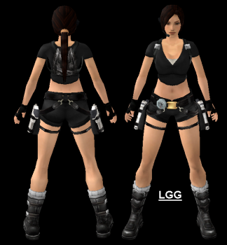 LGG Style TR Legend Main (Black) Outfit
