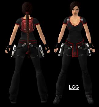 Mod Lara (Fiammanera Guy) Outfit