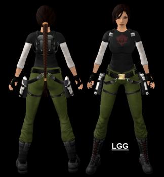 Mod Lara (Kurtis Trent) Outfit