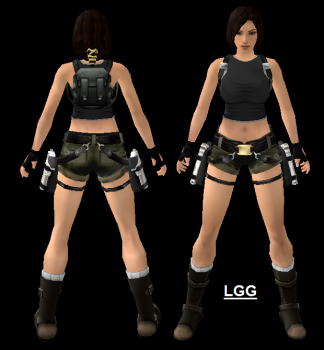 NG TR1 N-Gage Outfit