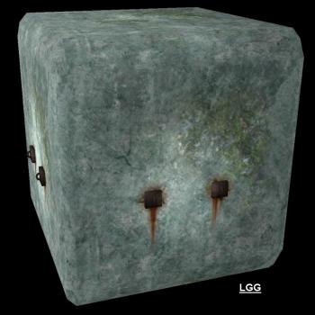 NG TR1 Pushable Stone Block (Perù)