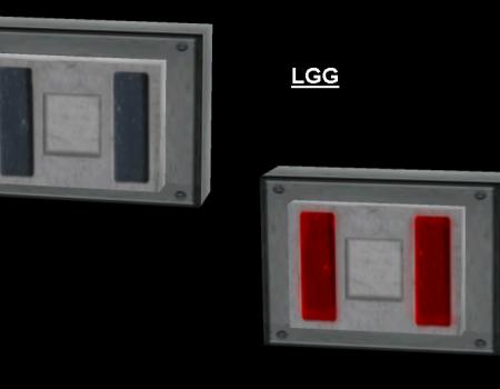 NG TR2-3 Grey Button