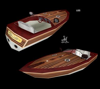 NG TR2 Motor Boat