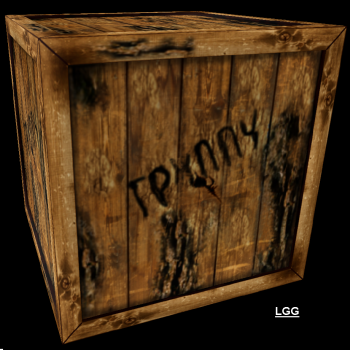 NG TR2 Pushable Russian Crate