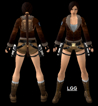 NG TR2 Tibet Outfit