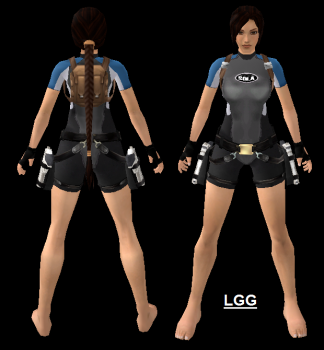 NG TR2 Wetsuit Outfit