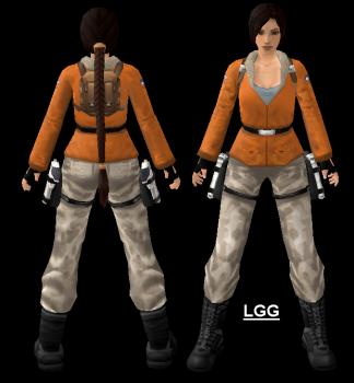 NG TR3 Antarctica Outfit