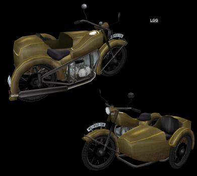 NG TR4 Motorbike