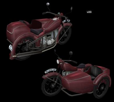 NG TR4 Motorbike (Red)