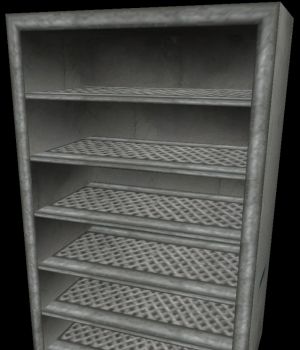 NG TR4 Pushable Metal Shelf