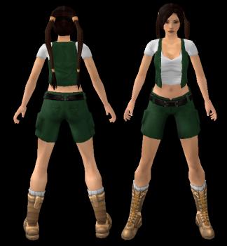 NG TR4 Young Lara Outfit