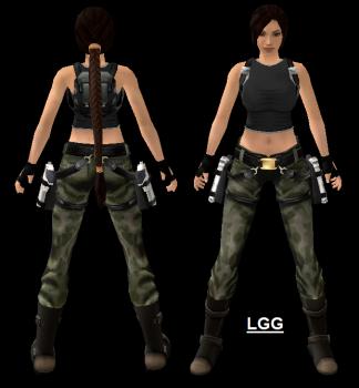 NG TRAOD Long Outfit