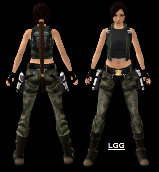 NG TRAOD Long (With Vest) Outfit