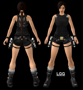 Tomb Raider Movie Black2 Outfit
